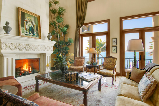 South Shore Residence mediterranean-living-room