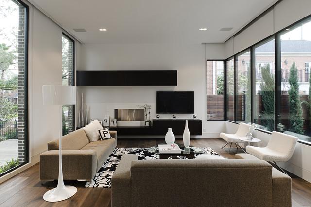 Southampton modern-living-room
