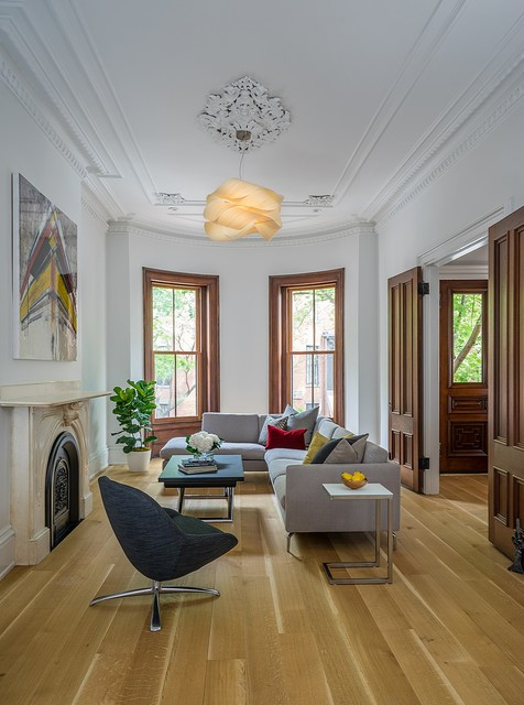 Houzz Tour Boston Row House Updated For Modern Family Life