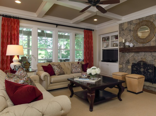 Southern Studio Interior Design traditional-living-room