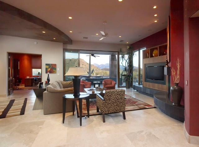 Southwest Contemporary 505 contemporary-living-room