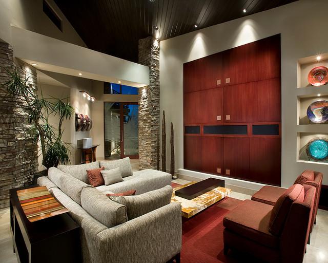 Southwest organic contemporary fountain hills for Contemporary southwest home designs