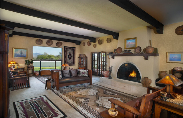 Native American Living Room Decor