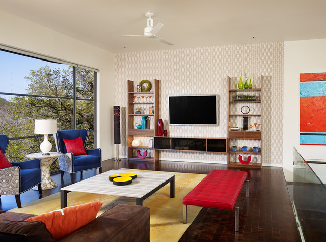 Eclectic Living Room by Spaces Designed, Interior Design Studio, LLC