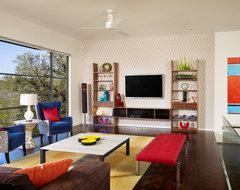 Spaces Designed, Interior Design Studio, LLC eclectic-living-room