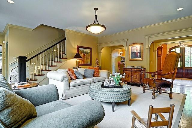 Spacious Living Room traditional-living-room