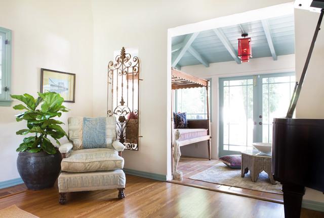 Spanish Bohemian in South Pasadena - Mediterranean - Living Room - los angeles - by Charmean ...