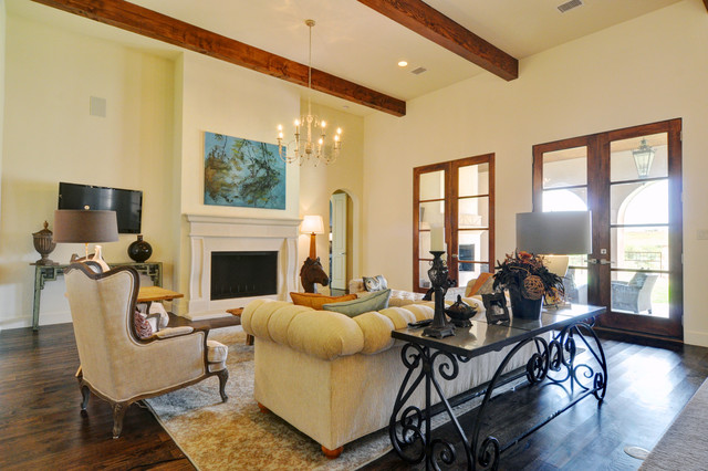 Spanish Colonial Modern Living Room Dallas By