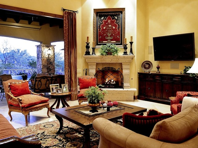 Spanish Colonial Home In Scottsdale By Sloane Marshall