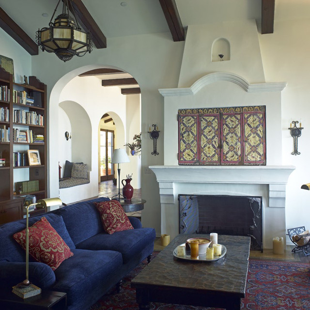 Mediterranean Living Room By Lewin Wertheimer