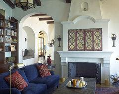 Spanish Colonial Malibu Hills mediterranean
