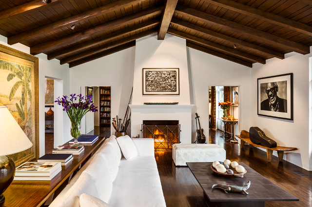 Spanish Colonial Revival Hacienda Mediterranean Living