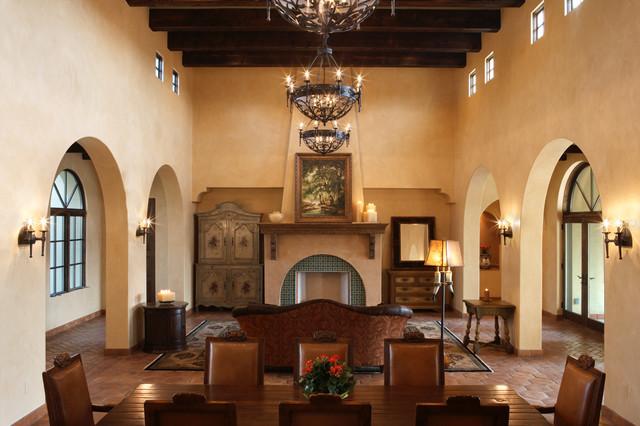 4500 Spanish Oaks mediterranean-living-room