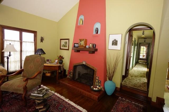 Spanish home in glendale ca mediterr neo sal n los - Salon mediterraneo ...