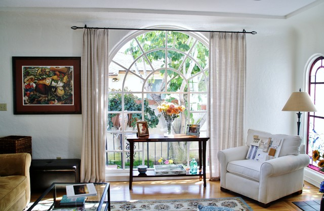 Spanish revival traditional living room san diego for Spanish revival interior design