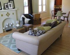 Spanish Style Living Room Fireplace mediterranean-living-room
