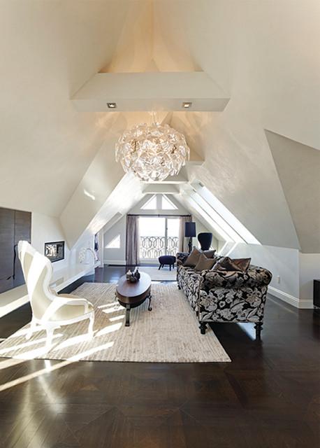 Sparkling Living Room contemporary-living-room