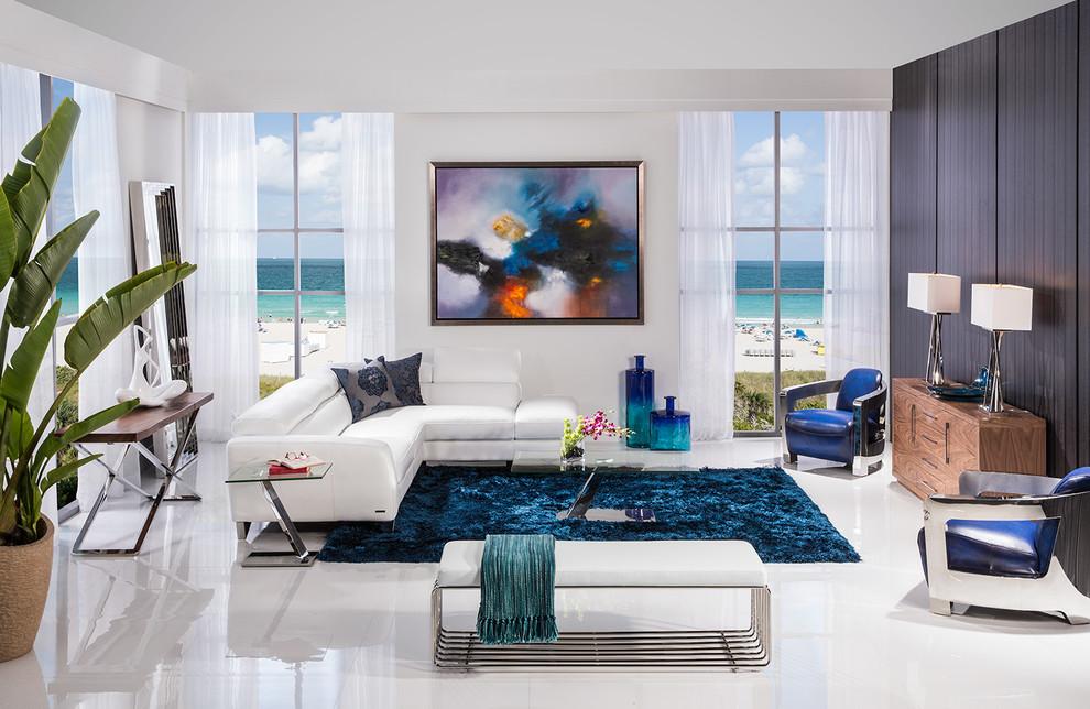 Sparta Modern Room - Modern - Living Room - Miami - by El Dorado