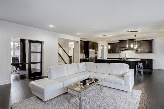 Spec Home 018 contemporary-living-room