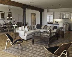 Spice Warehouse Tribeca Loft Living Room industrial-living-room