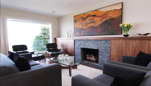 Spring Bay - Mid-Century Modern modern living room