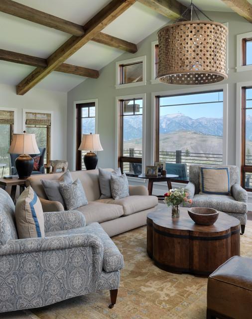 Spring Creek Transitional Living Room