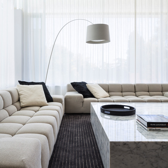 Springfield house adelaide contemporary living room for Sofa interior design