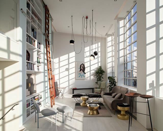 St martin 39 s lofts scandinavo soggiorno londra di for Soggiorno a londra