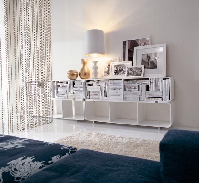 Stackable Bookshelf 02131 contemporary-living-room - Stackable Bookshelf 02131 - Contemporary - Living Room
