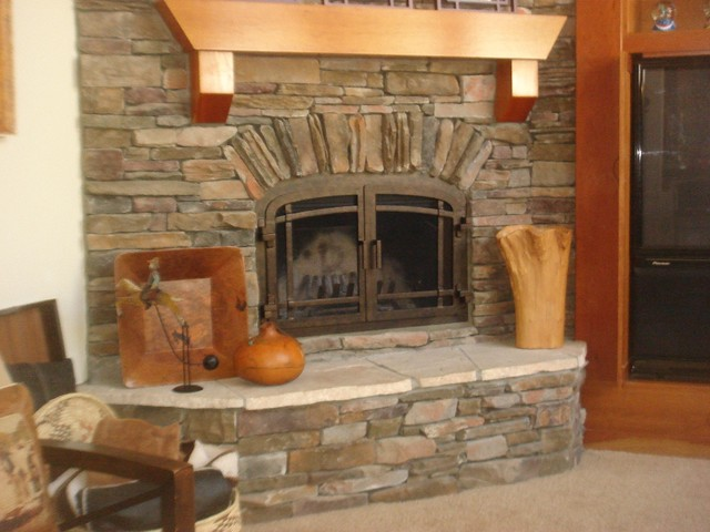 Ams Fireplace Doors Remodel Ideas Modern Living Room San Diego By Ams Fireplace Inc