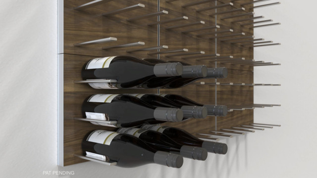 STACT Modular Wall-mounted Wine Rack System - Commercial-grade Design - Modern - Living Room ...