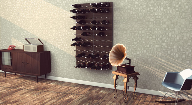 Beautiful STACT Modular Wall Mounted Wine Rack System, Designed By Eric Pfeiffer  Modern Living Part 3