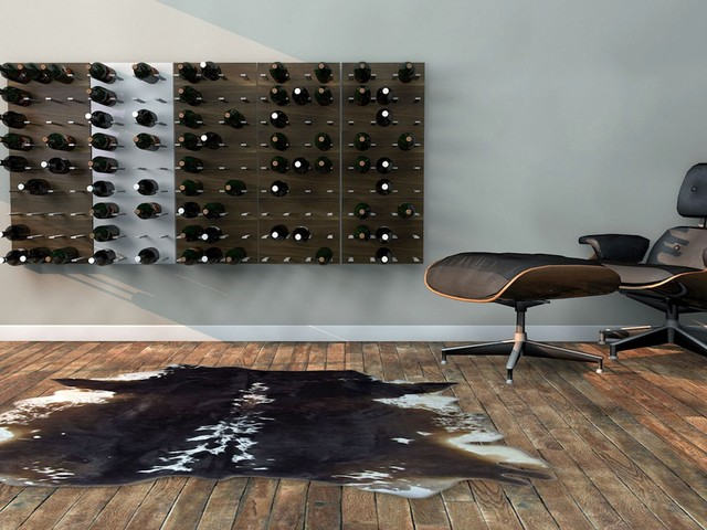 Wine Rack In Living Room Part - 16: STACT Modular Wine Wall - Revolutionary Wine Rack By ICFF Winner Eric  Pfeiffer Modern-living