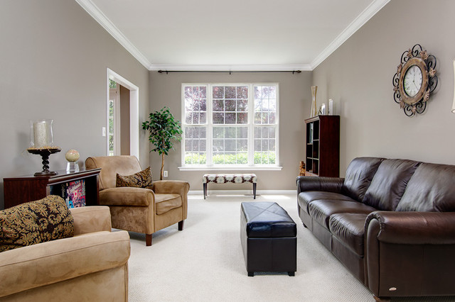 Staged and Sold traditional-living-room
