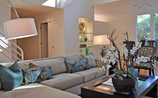 staged living rooms. Staged Living Room contemporary living room  Contemporary Portland by