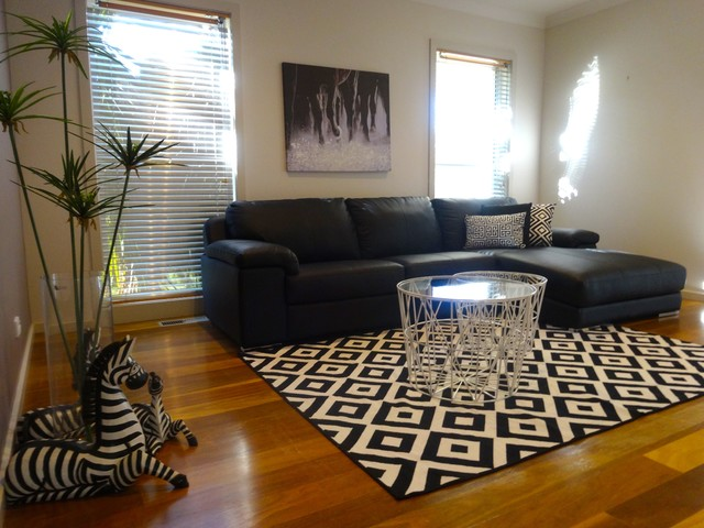 Staged To Sell Contemporary Living Room Sydney By