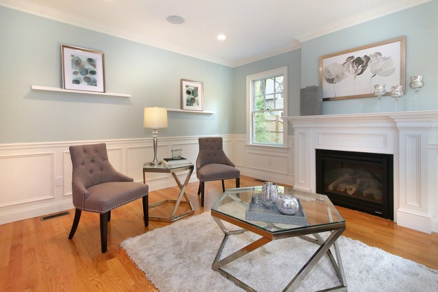 living room room staging cypress rd wellesley ma 10634