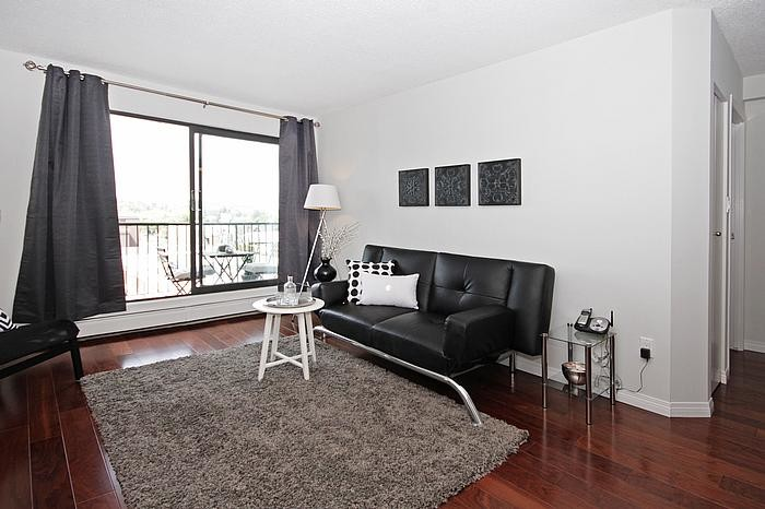 Staging for Burnaby Condo