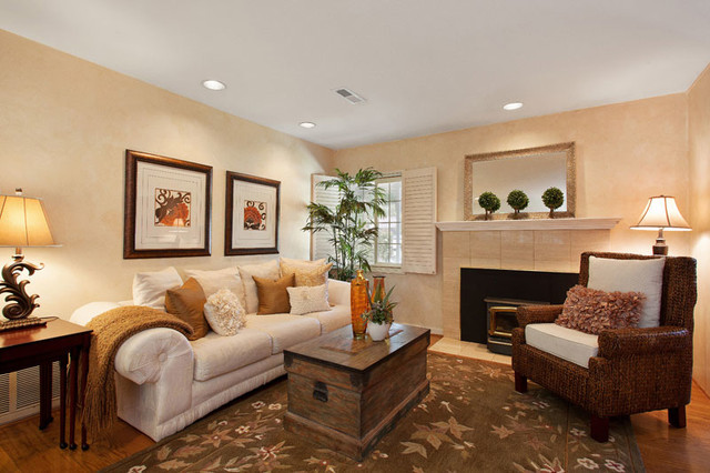 Staging Ideas Traditional Living Room San Francisco By Clark And Anne