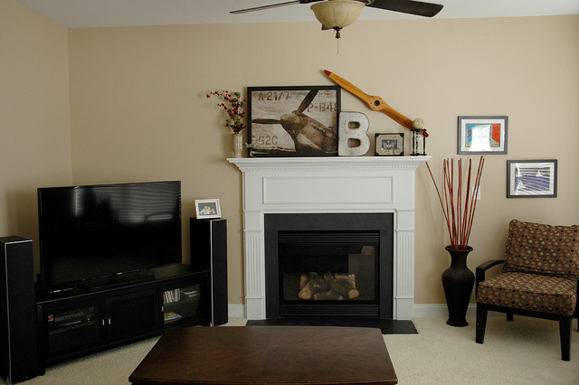 Staging - Tega Cay traditional-living-room