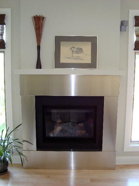 Stainless Steel Trim For Fireplace By Ridalco