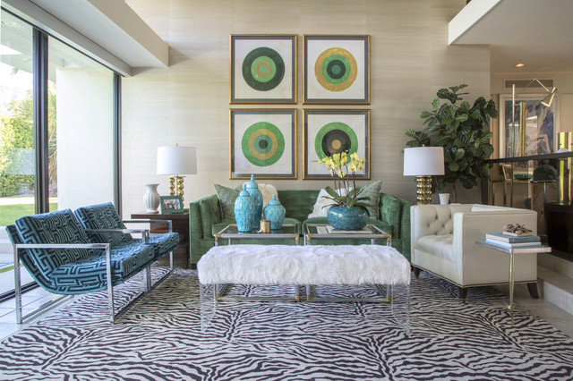 Delicieux Stan Sackley Palm Springs Contemporary Living Room