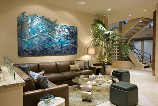 Stansfield Residence contemporary-living-room