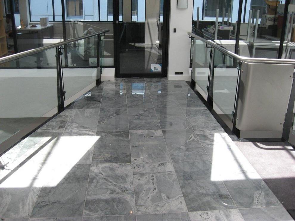 Star Grey Granite Polished - Modern - Living Room - Brisbane - By The Marble Merchant Pty Ltd