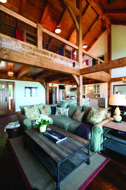 Starbuck, MN traditional-living-room