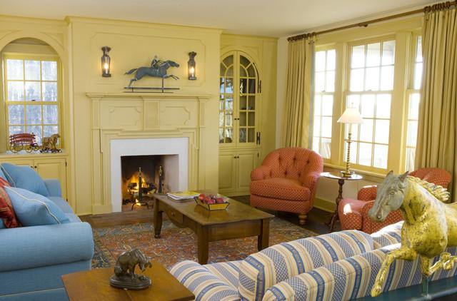 Starry Night Farm - Living Room farmhouse-living-room