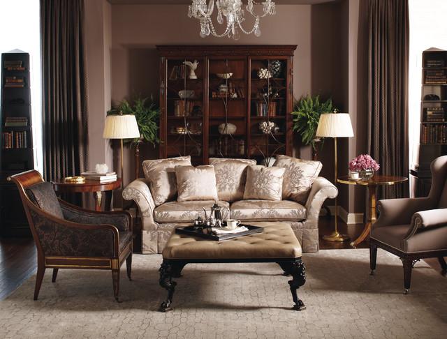 stately homes living room baker furniture traditional living room