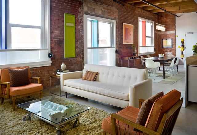 Steel Loft   Contemporary   Living Room   Kansas City   By Bob ...