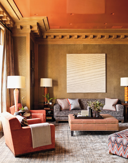 Steven Gambrel Time and Place contemporary-living-room