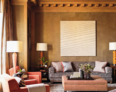 Steven Gambrel Time and Place contemporary living room